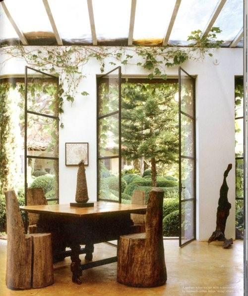 bringing the outdoors inside vim vintage design. Black Bedroom Furniture Sets. Home Design Ideas