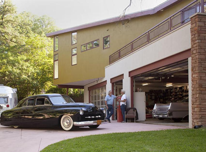 Mid century modern ranch home vim vintage design for Mid century modern garage