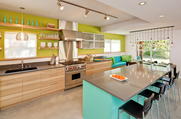 eye candy: rediculously fun kitchen in south austin | vim