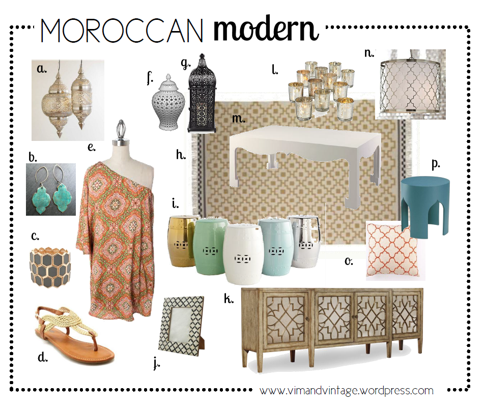 Moroccan Inspiration Board