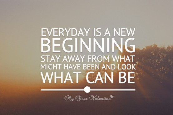 Thursday Thoughts: New Beginnings