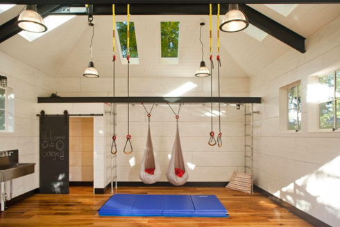 garage work out room