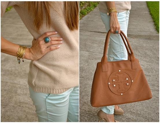 mint beige style