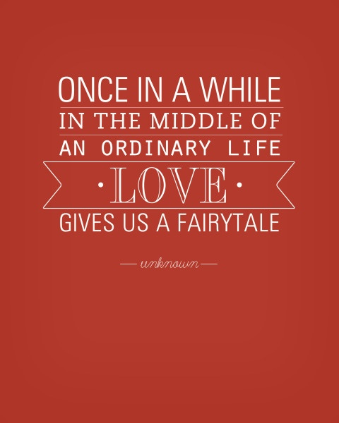 Fairytale quote