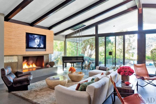John Legend's living room