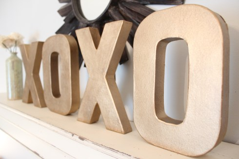 xoxo letters