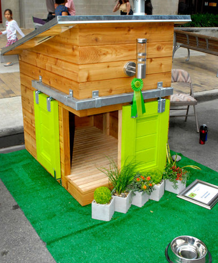greenest design dog home barkitecture 2012