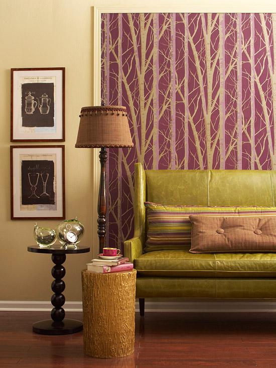 Color scheme vim vintage design life style page 2 - Purple and green living room decor ...