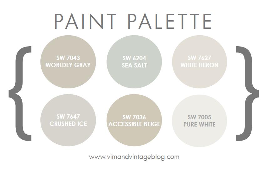 paint colors vim vintage design life style. Black Bedroom Furniture Sets. Home Design Ideas