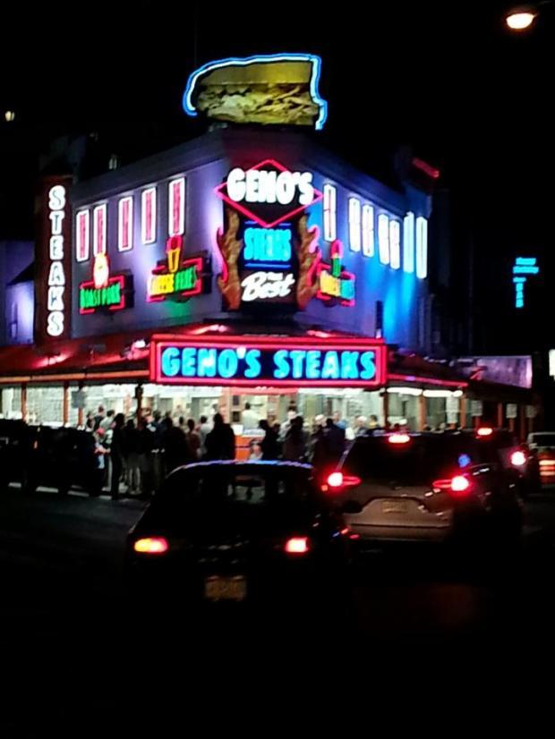 Geno's Steaks Philadelphia