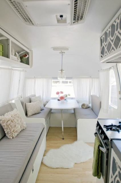 Vintage Airstream Renovation - Rue Mag June July 2013