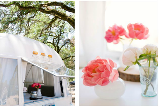 vintage airstream turned event planning business