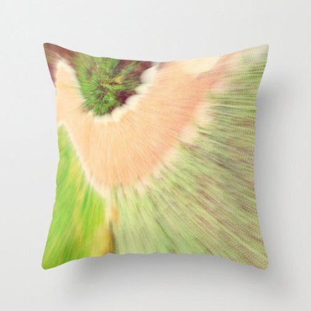 Blurred Pillow Cover by Wayfarer Prints