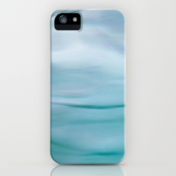 blurred water abstract iphone cover