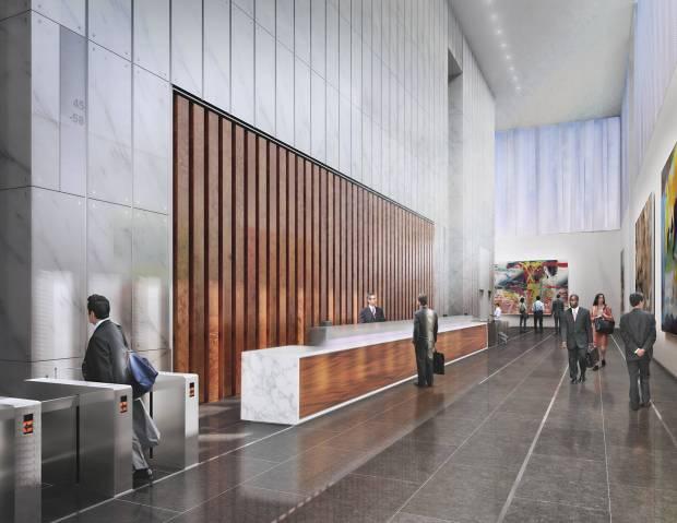 Freedom Tower Lobby