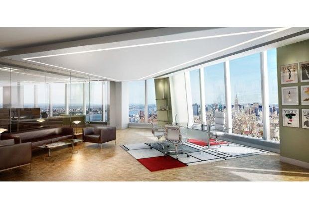 One World Trade Center future interior space