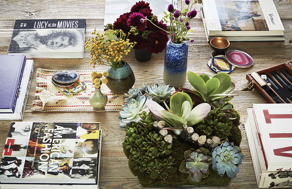 Accessories at Rachel Bilson's home