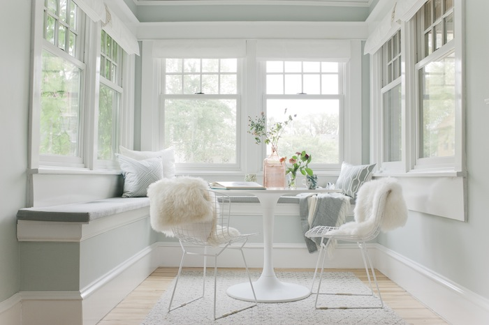 Curbly Sunroom by Emily Henderson