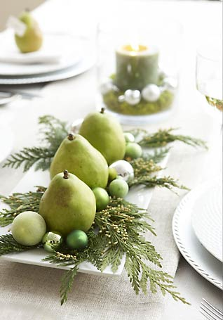 Pears & Ornaments