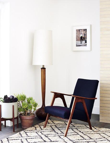 mid century minimalist meets boho chic | Vim & Vintage ...