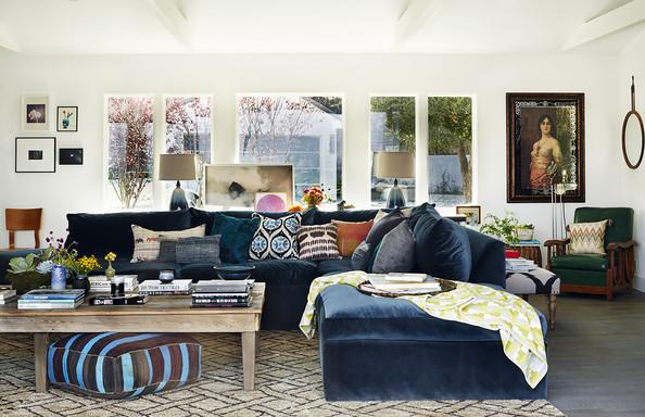 Rachel Bilson's Living Room