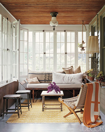 Sunroom - Elle Decor