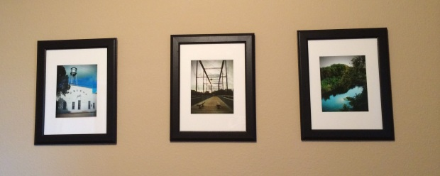 IKEA frames + your favorite pictures - Accessorizing on a Budget