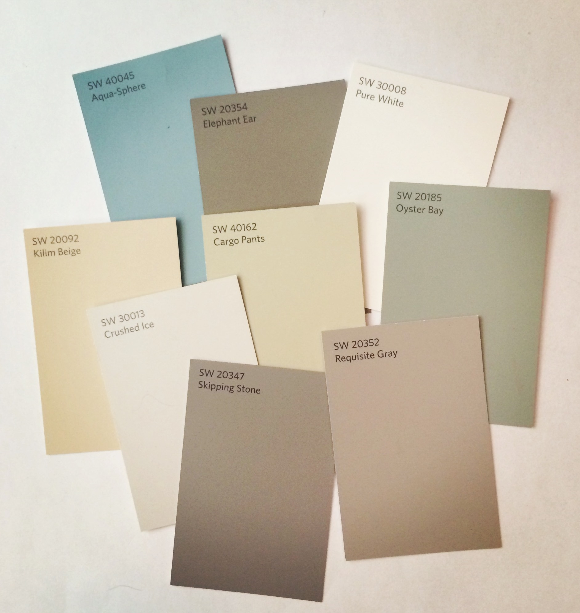 love it or hate it: Sherwin Williams new numbering system | Vim ...