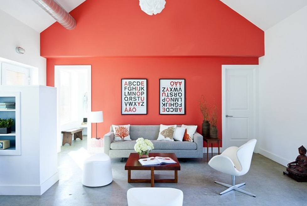 Coral Living Room .