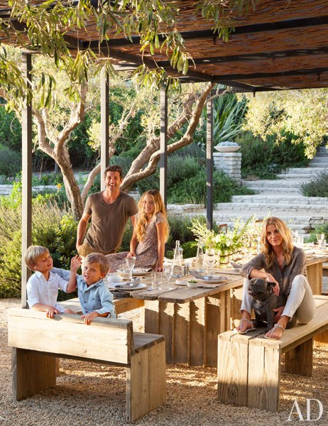 Dempsey Family - Architectural Digest