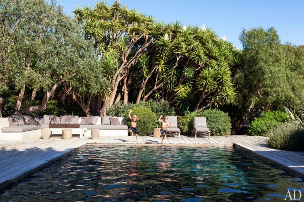 Dempsey Pool Area - Architectural Digest
