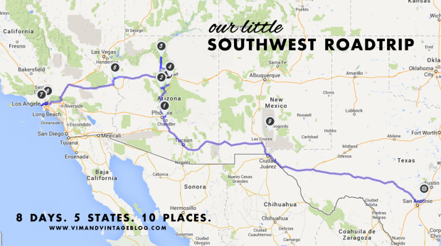 Southwest Roadtrip Guide - Vim & Vintage Blog