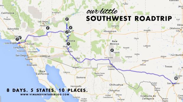 Southwest Roadtrip Guide - Vim & Vintage Blog