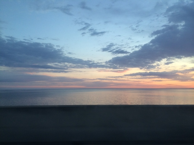 Sunrise near Pensacola, FL