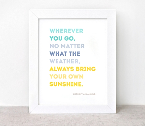 sunshine quote