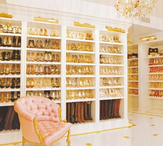 Mariah Careys closet!