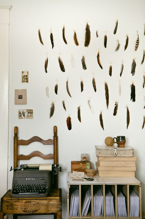 another feather studio - featured on imogene + willie