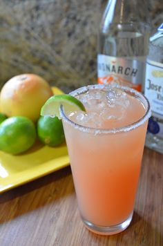 Grapefruit Agave Margarita recipe - Serena Bakes Simply From Scratch