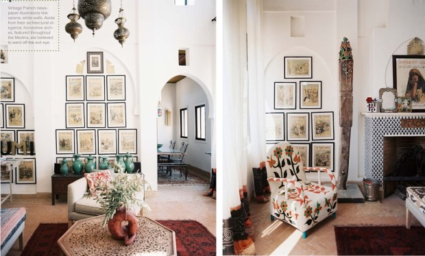 Living Area in a Moroccan home - Lonny Mag (May 2012)