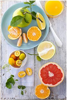 lovely citrus shot