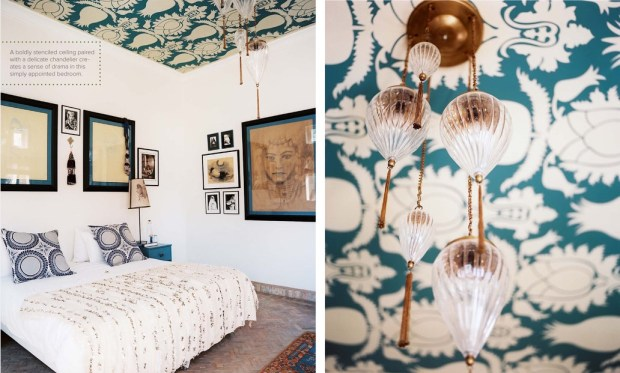 moroccan bedroom - May 2012 Lonny Mag