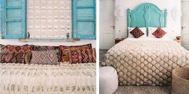 morrocan bedroom details
