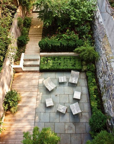 Foras Studio -Urban Garden in Boerum Hill, Brooklyn