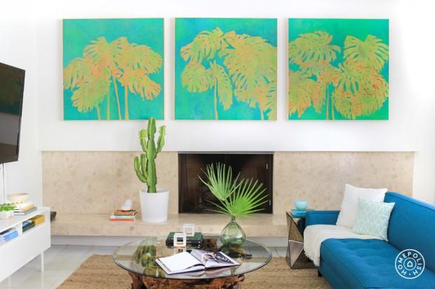 Homepolish- Kelly Oxford's Living Room