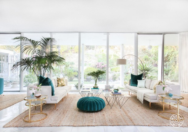 Homepolish- Kelly Oxford's Palm Springs Home