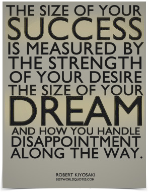 Measuring success quote
