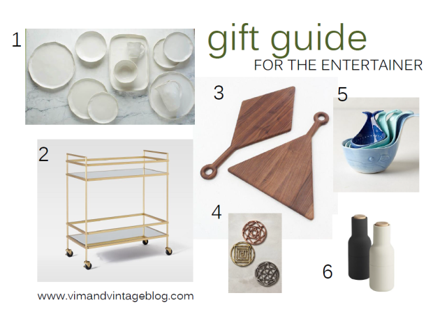 gift guide - for the entertainer