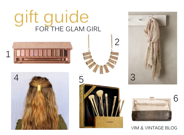 Gift Guide for the Glam Girl - Vim and Vintage Blog 2014