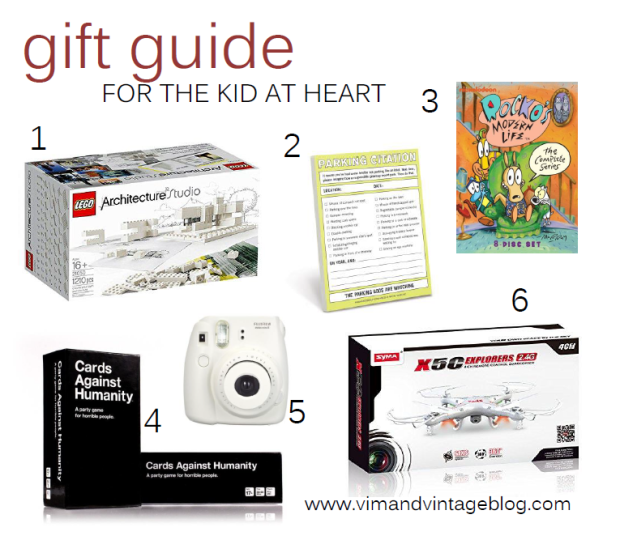 Gift Ideas for the Kid at Heart! - Christmas 2014 - Vim & Vintage Blog