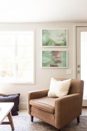 Chelsea Fullerton's living room